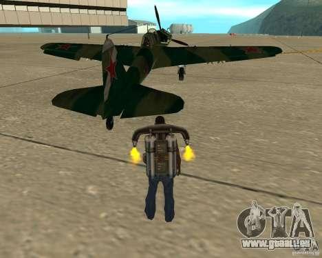 Il-2 m für GTA San Andreas zurück linke Ansicht