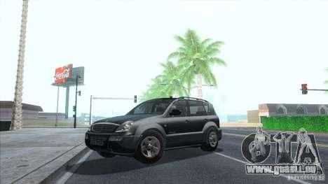 SsangYong Rexton 2005 pour GTA San Andreas