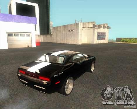 Dodge Challenger Concept für GTA San Andreas zurück linke Ansicht