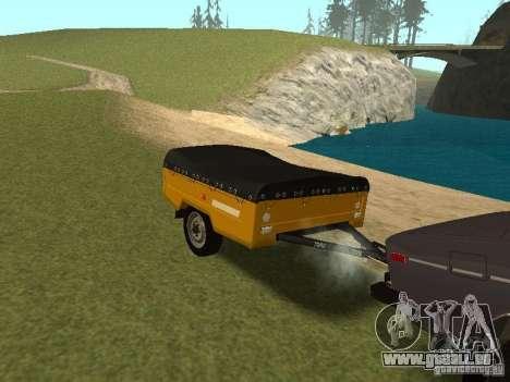 MAZ 8114 veau pour GTA San Andreas