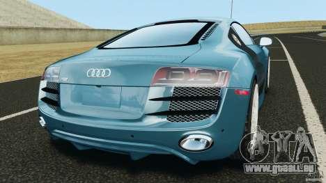 Audi R8 5.2 Stock Final für GTA 4 hinten links Ansicht