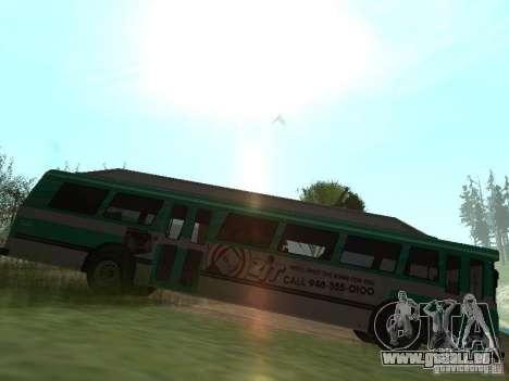 Bus de GTA 4 pour GTA San Andreas laissé vue