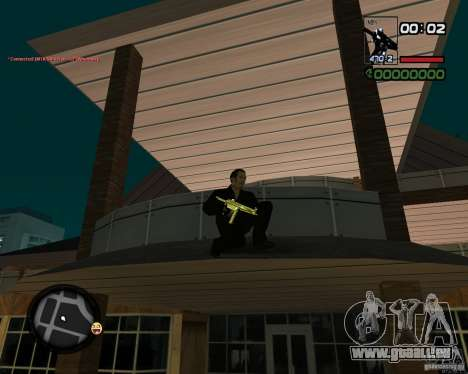 MP5 Gold für GTA San Andreas