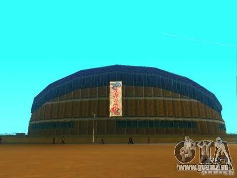 Le nouveau bâtiment du VG pour GTA San Andreas quatrième écran