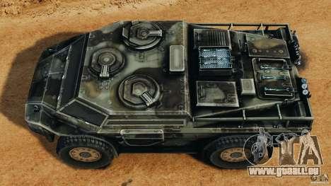 Armored Security Vehicle für GTA 4 rechte Ansicht
