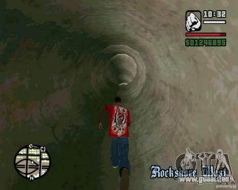 Springt auf der Autobahn in Las Venturase für GTA San Andreas siebten Screenshot