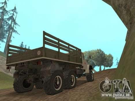 ZIL 131 Main pour GTA San Andreas vue de droite