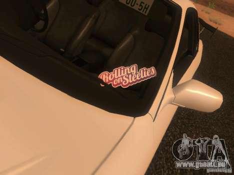 Nissan Skyline GTS R32 JDM für GTA San Andreas Rückansicht