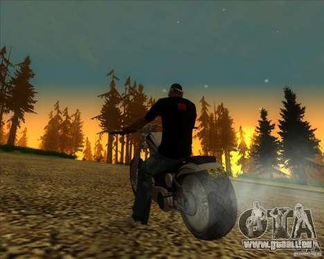 Hexer bike pour GTA San Andreas vue de côté
