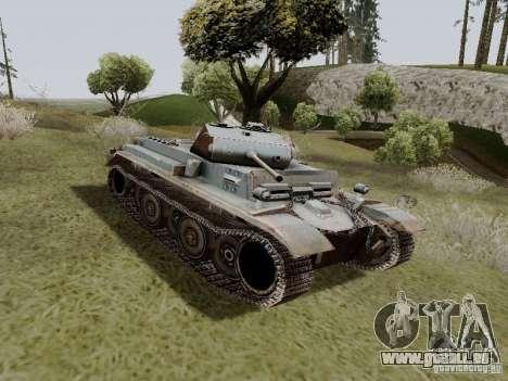 PzKpfw II Ausf.B pour GTA San Andreas