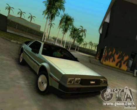 DeLorean DMC-12 V8 für GTA Vice City linke Ansicht