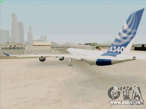 Airbus A-340-600 pour GTA San Andreas vue de droite