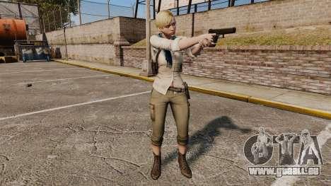 Sherry Birkin pour GTA 4 quatrième écran