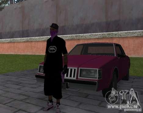 New Ballas Skin pour GTA San Andreas quatrième écran