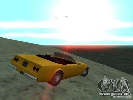 Feltzer de GTA Vice City pour GTA San Andreas laissé vue