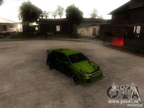 Chevrolet Lacetti Tuning pour GTA San Andreas vue de droite