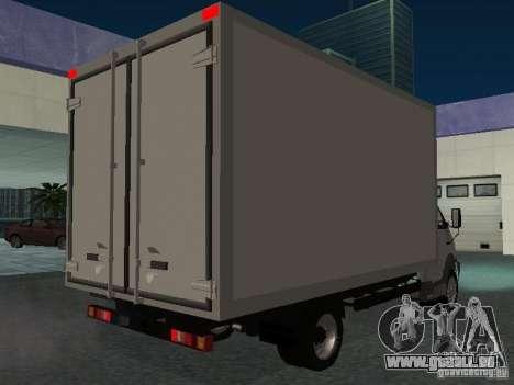 33102 Valday GAZ (long) pour GTA San Andreas vue de droite