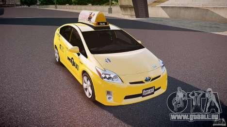 Toyota Prius NYC Taxi 2011 pour GTA 4 est un côté