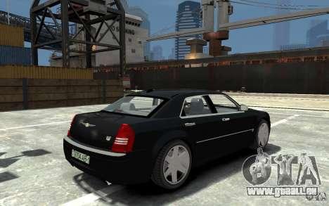 Chrysler 300C pour GTA 4 est un droit