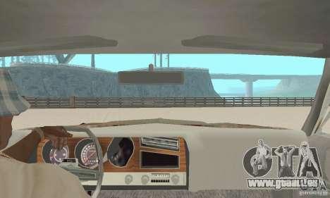 Pontiac LeMans 1970 Scrap Yard Edition für GTA San Andreas Rückansicht