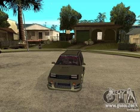 OKA 1111 Z.V.E.R. Tuning für GTA San Andreas Rückansicht