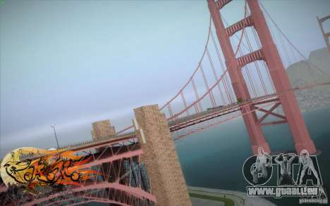 New Golden Gate bridge SF v1.0 pour GTA San Andreas