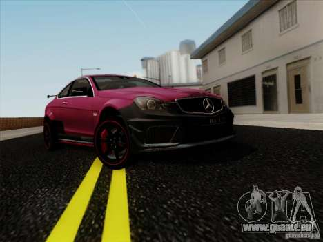 Mercedes Benz C63 AMG Coupe Presiden Indonesia für GTA San Andreas