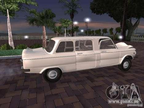 ZAZ 968 m Limousine für GTA San Andreas rechten Ansicht