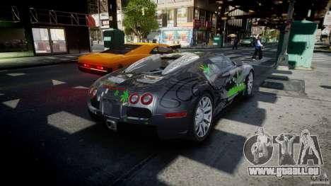 Bugatti Veyron 16.4 v1.0 new skin pour GTA 4 est un côté