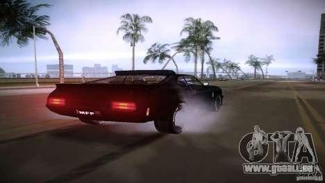 Ford Falcon GT Pursuit Special V8 Interceptor 79 für GTA Vice City rechten Ansicht
