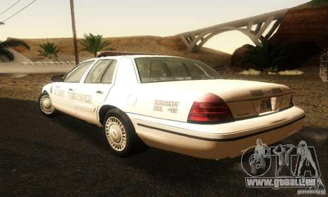Ford Crown Victoria Neberska Police pour GTA San Andreas laissé vue