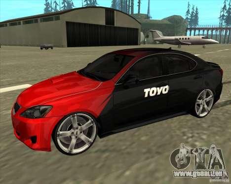 Lexus IS350 von NFS Pro street für GTA San Andreas