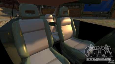 Honda Civic iES pour GTA 4 est une vue de l'intérieur