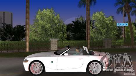 BMW Z4 2004 pour une vue GTA Vice City de la gauche