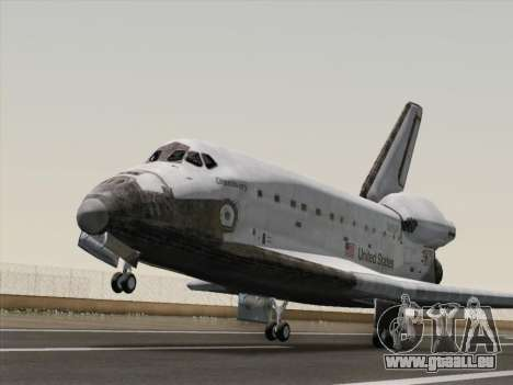 Space Shuttle für GTA San Andreas