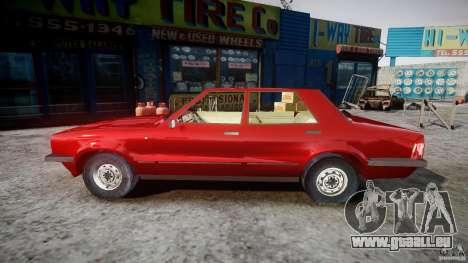 Ford Taunus für GTA 4 linke Ansicht