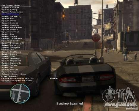 Simple Native Trainer v6.4 für GTA 4 weiter Screenshot