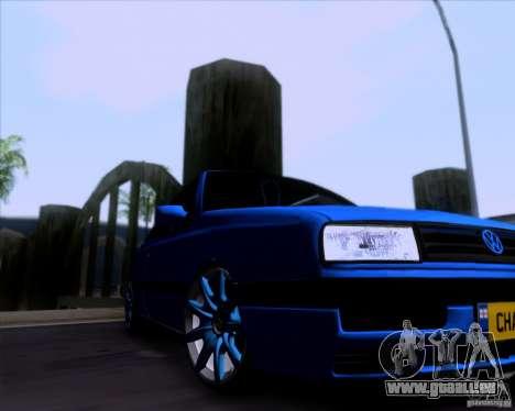 Volkswagen Golf III pour GTA San Andreas vue arrière