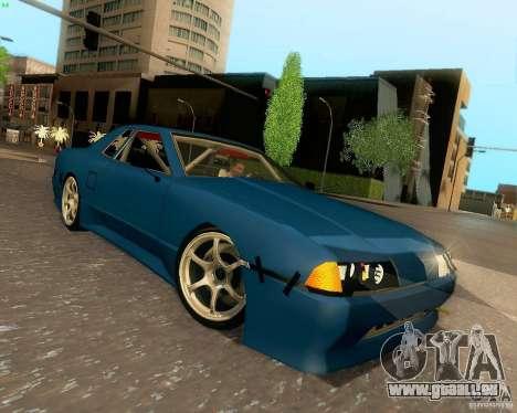 Elegy Drift Korch für GTA San Andreas Innenansicht