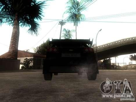 Chevrolet Lacetti Tuning pour GTA San Andreas sur la vue arrière gauche