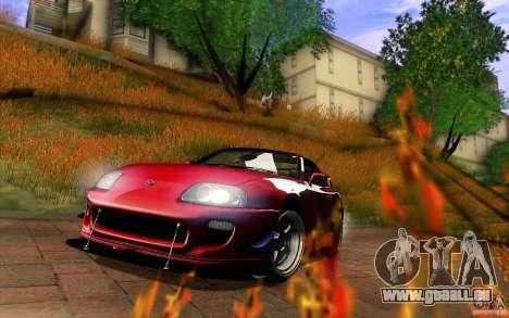 Toyota Supra D1 1998 für GTA San Andreas Innen