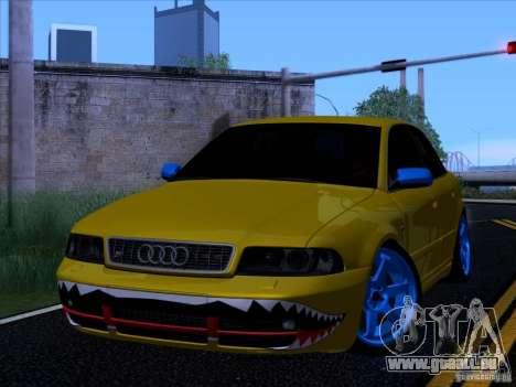 Audi S4 DatShark 2000 pour GTA San Andreas sur la vue arrière gauche