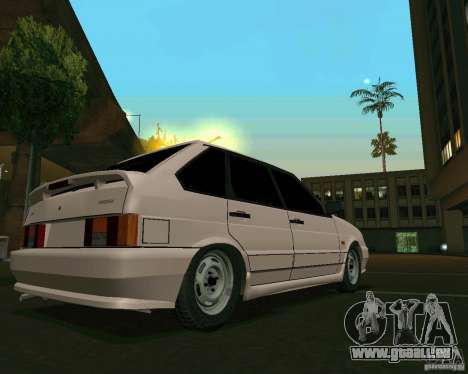 ВАЗ 2114 Extras pour GTA San Andreas laissé vue