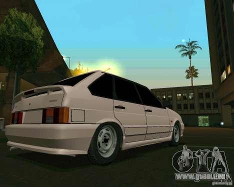 Ваз 2114-Extras für GTA San Andreas linke Ansicht