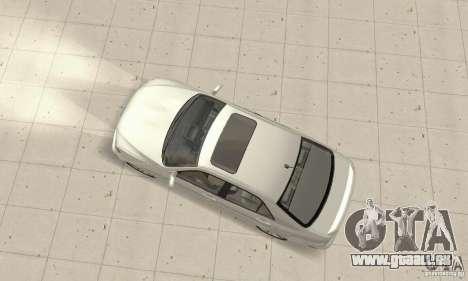 Lexus IS300 Stock pour GTA San Andreas sur la vue arrière gauche