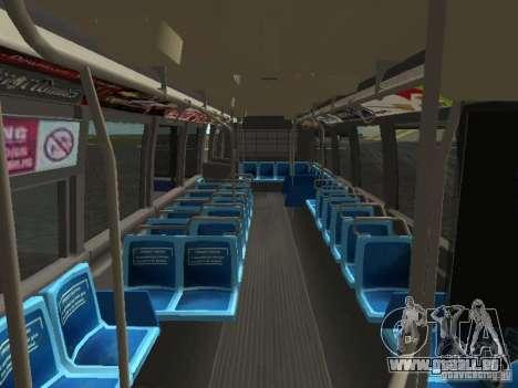 GMC RTS MTA New York City Bus pour GTA San Andreas vue de côté