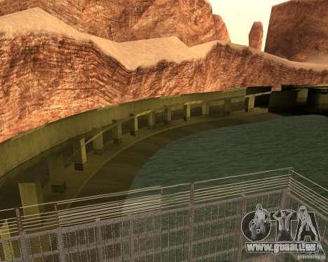 Base du DRAGON pour GTA San Andreas deuxième écran