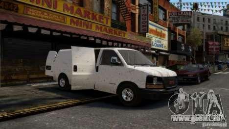 GMC Savana 2500 v1.0 pour GTA 4 Vue arrière