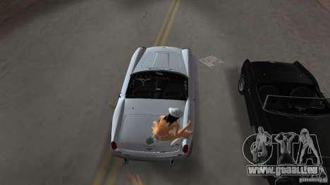 Ferrari 250 California 1963 für GTA Vice City rechten Ansicht