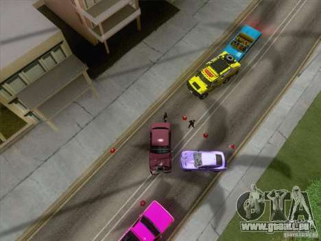 Unfall auf der Straße für GTA San Andreas dritten Screenshot